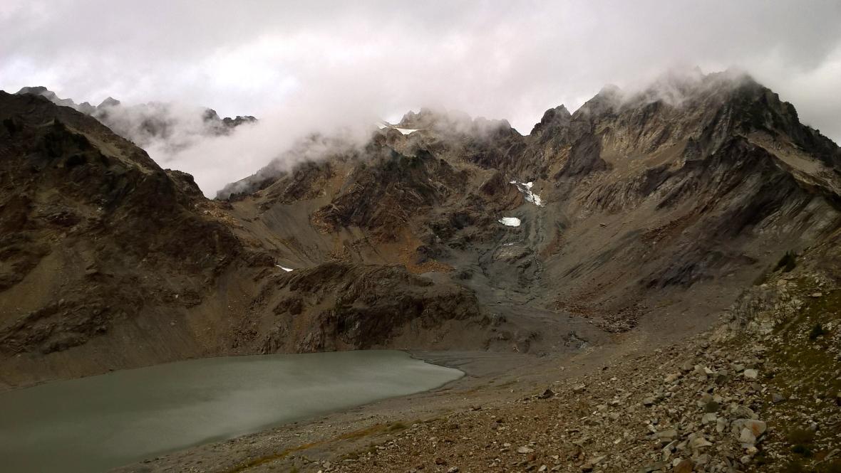 glacier, autumn 2015